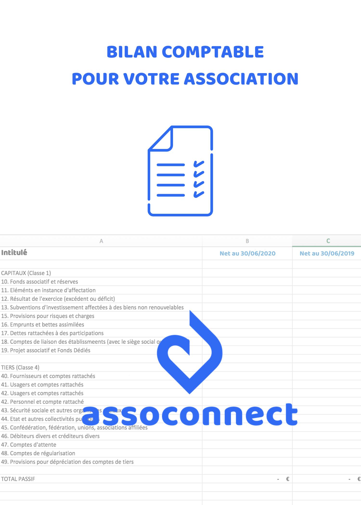 Bilan Comptable Gratuit Pour Association A Telecharger